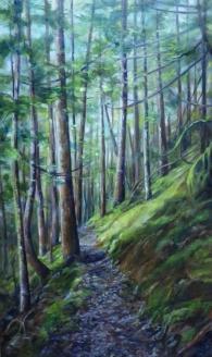 Elkhorn Trail 16x20 oil on canvas