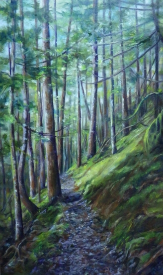 Elkhorn Trail 16x20 oil on canvas